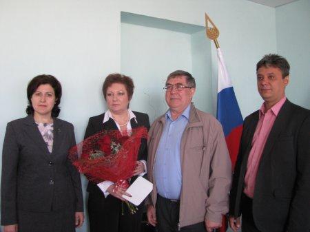 Людмила Тимофеева получила высокую федеральную награду