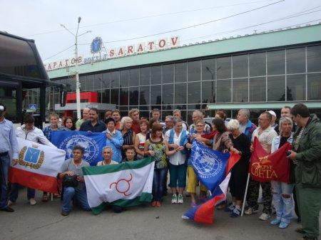 """Саратовские журналисты провели акцию """"Дороги дружбы: Саратов-Ингушетия»"""