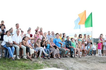Прошел фестиваль семейного отдыха «Хвалынская волна»