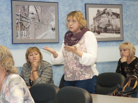 В Саратове прошла «переговорная площадка» на тему «Новые идеи для освоения проектной культуры»