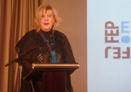 Выступление Представителя ОБСЕ по вопросам свободы СМИ Дуньи Миятович на ежегодной встрече Европейской федерации журналистов