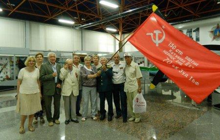 Знамя Победы вернулось в Саратов!