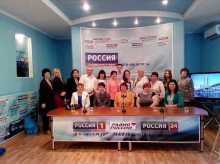 Журналистская встреча в пресс-центре ГТРК-Саратов