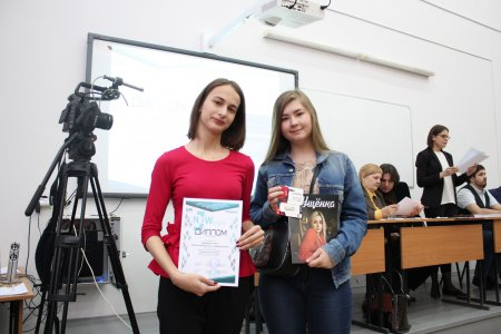 «Новым журналистам» вручили дипломы и сертификаты Фестиваля-конкурса ШЖ СГУ