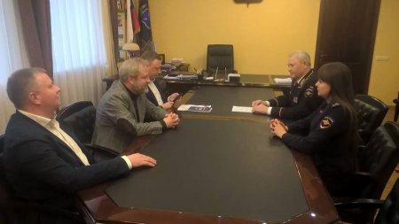 В Саратове побывал заместитель председателя Союза журналистов России Алексей Вишневецкий