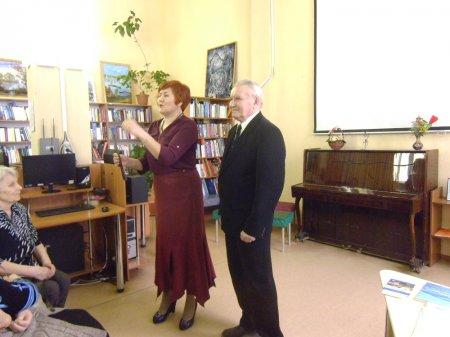 В Саратове прошел творческий вечер ветерана-журналиста Евгения Федоровича Саблина