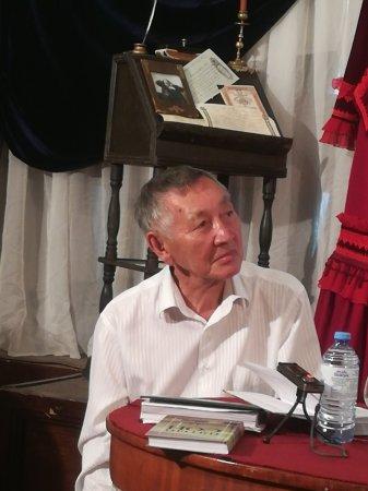 Встреча с казахским писателем в музее Н.Г. Чернышевского