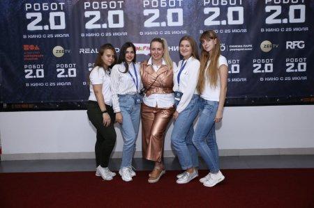 Саратовская команда на красной дорожке со звёздами шоу-бизнеса