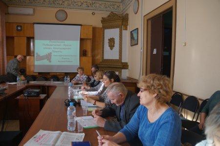 В Вольск съехались журналисты со всей области, чтобы обсудить подготовку к юбилею Победы