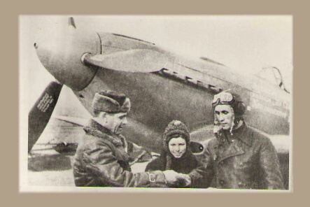 Самолет от Хвалынска
